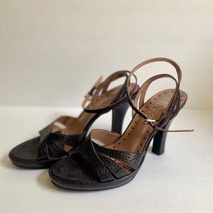 Franco Sarto strappy heels Size:8